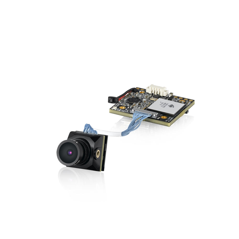 Caddx Baby Turtle 800TVL NTSC/PAL 16:9/4:3 Switchable FOV 170 Degree 1.8mm 7G Glass Lens Super WDR FPV Camera HD Recording DVR Audio OSD for FPV Racing Drone Whoop Version