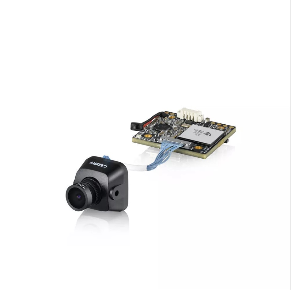 Caddx Baby Turtle 800TVL NTSC/PAL 16:9/4:3 Switchable FOV 170 Degree 1.8mm 7G Glass Lens Super WDR FPV Camera HD Recording DVR Audio OSD for FPV Racing Drone Normal Version