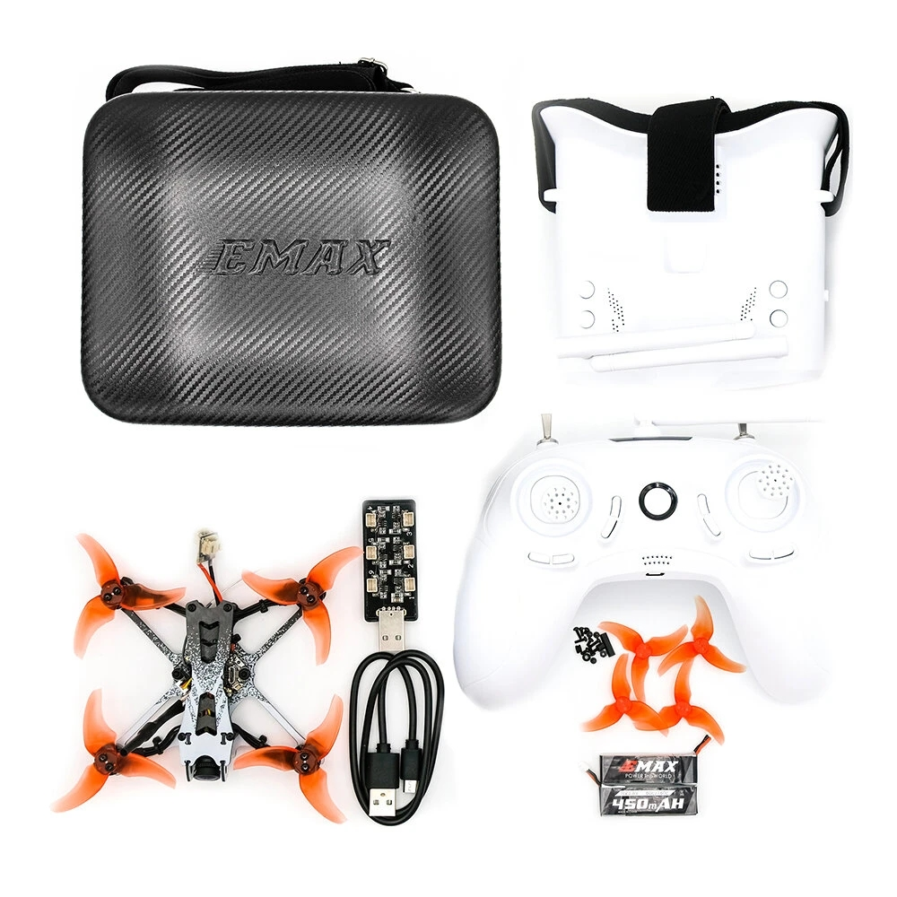 EMAX Tinyhawk II Freestyle 2.5 Inch 115mm Wheelbase FPV Racing Drone RTF Frsky D8 Runcam Nano 2 Camera 200mW VTX 5A ESC as shown