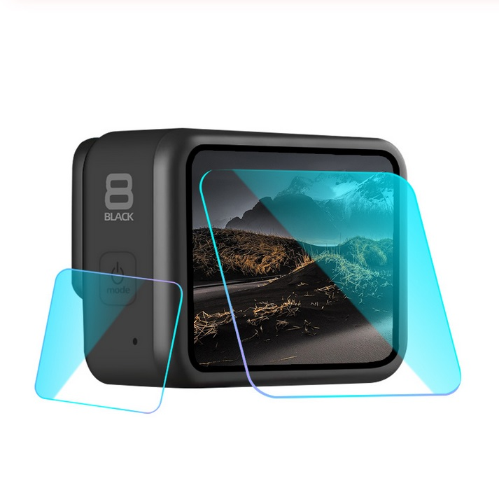 9H Tempered Glass Screen Protector for GoPro Hero 8 Protective Lens Film LCD Screen Camera Accessories Gopro8