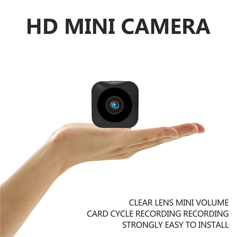 HD Mini WiFi Camera (Black)
