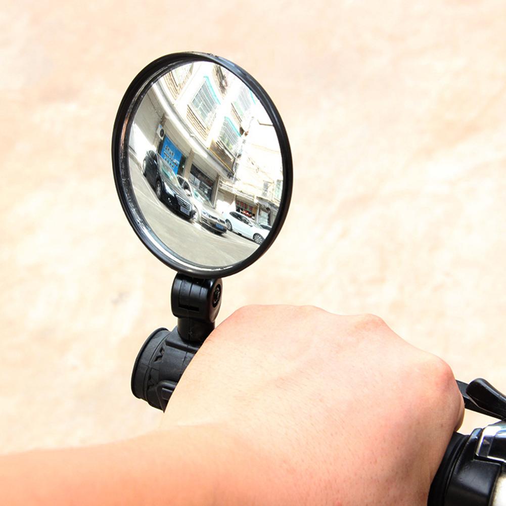 Bicycle Rearview Handlebar Mirrors Cycling Rear View Mirror Bike Supplies black_small