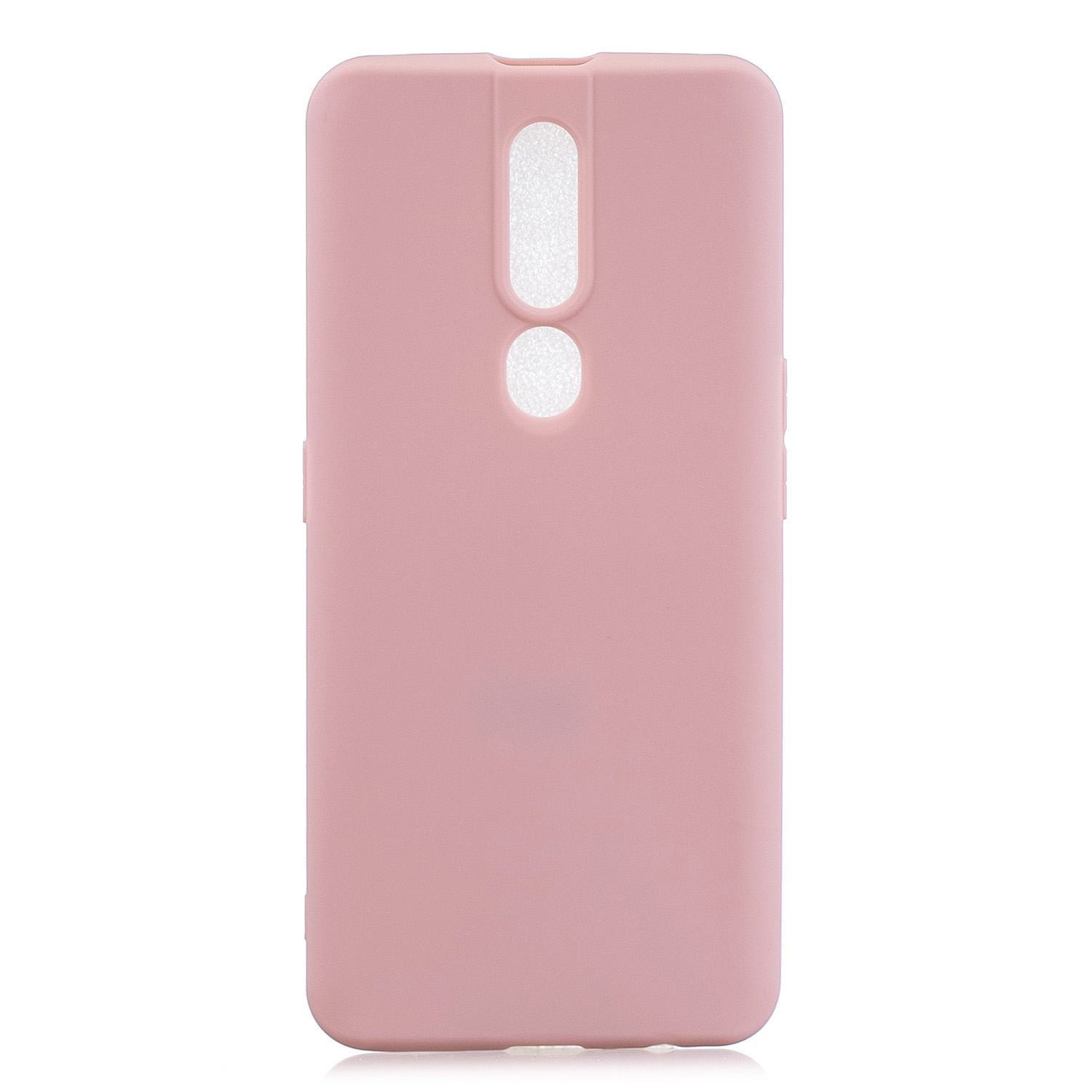 For OPPO F11 pro Lovely Candy Color Matte TPU Anti-scratch Non-slip Protective Cover Back Case 11