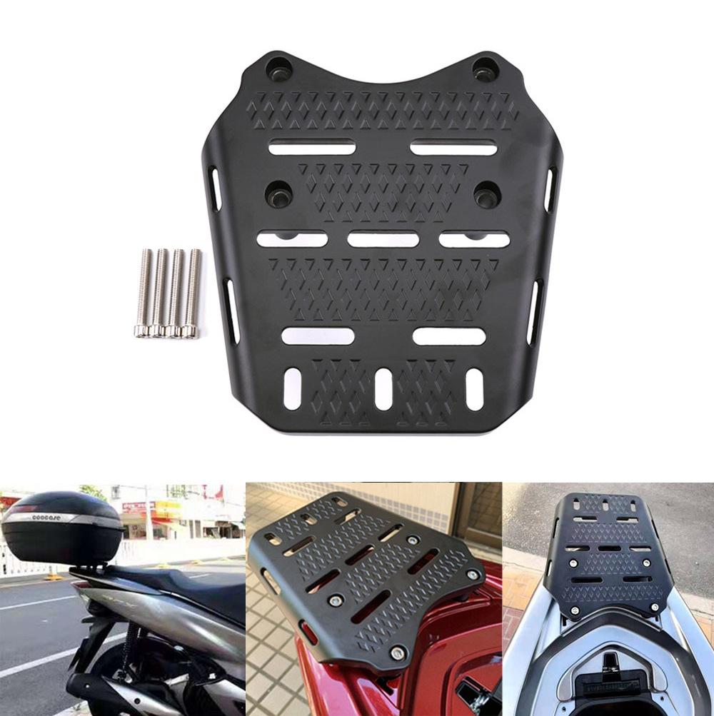 Motorcycle Rear Luggage Rack Holder for Honda PCX 125 150 2014-2019 black