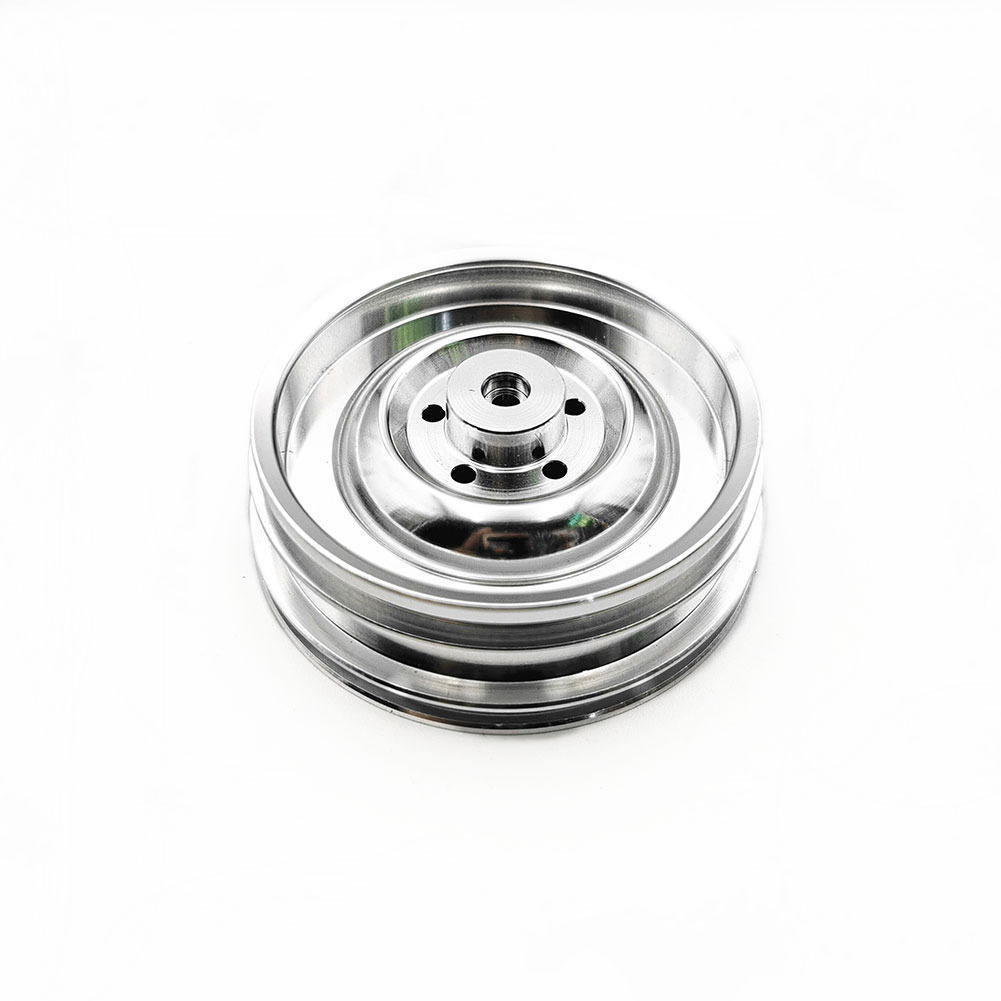 Upgrade Metal Wheel Hub Modified Parts for Willys C606 1/10 2.4G RC Car Silver