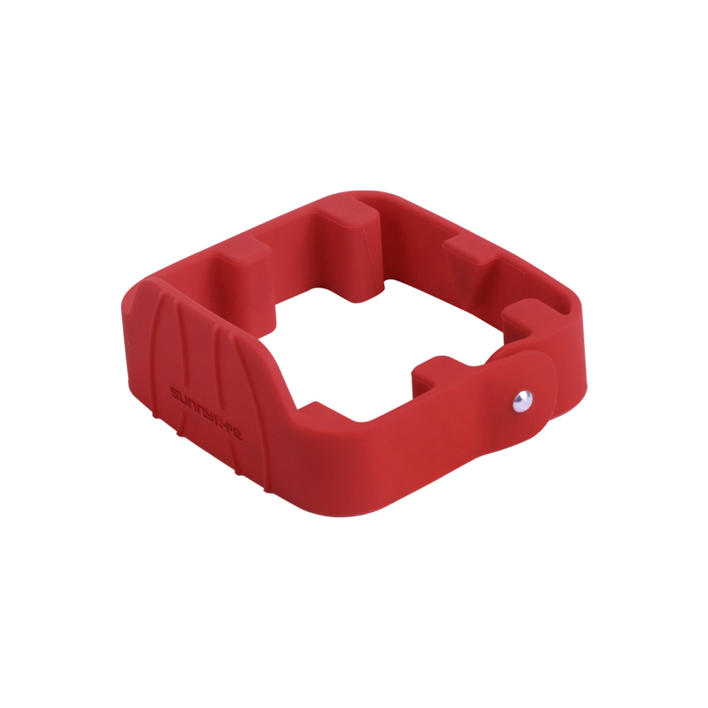Propeller Stabilizers Silicone Protective Prop Propeller Fastening Belt Drone Accessories for Mavic Air 2 red