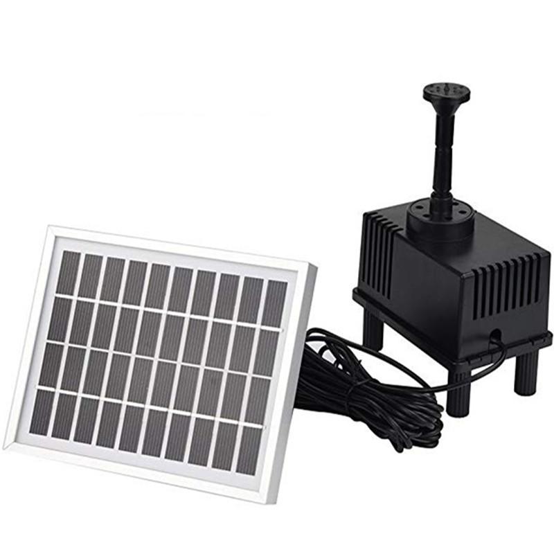 1.8W Solar Fountain Dc Water Pump for Landscape Pool Garden Decor AS180-1018A AS180-1018A