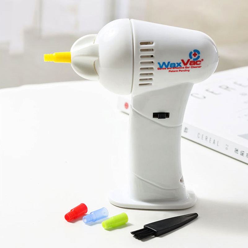 Electric Vac Vacuum Cordless Ear Cleaner Wax Safe Remover Painlessly Tool