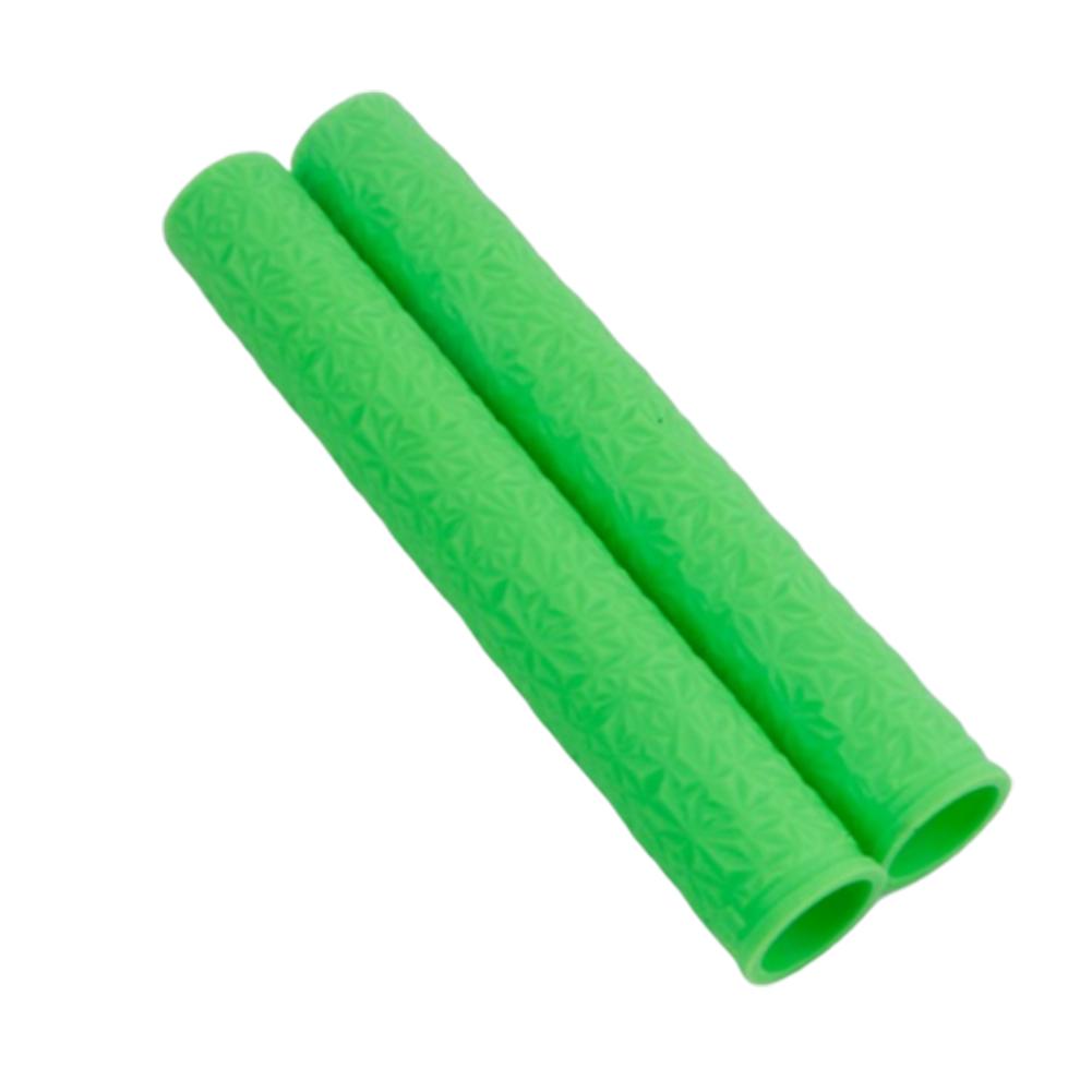 ODI Silicone Handlebar Child Balance Bicycle Ultra-light Shock-absorbing Handlebar Cover green