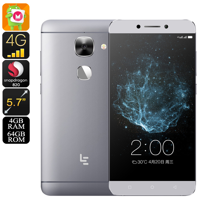 LeEco LeTV Le Max 2 Android Phone (Gray)