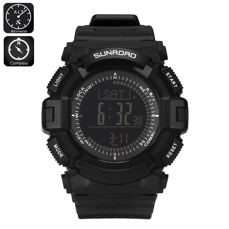watch water resistant watches men resin sports lap dive div black digital alarm itm boy s res time dual