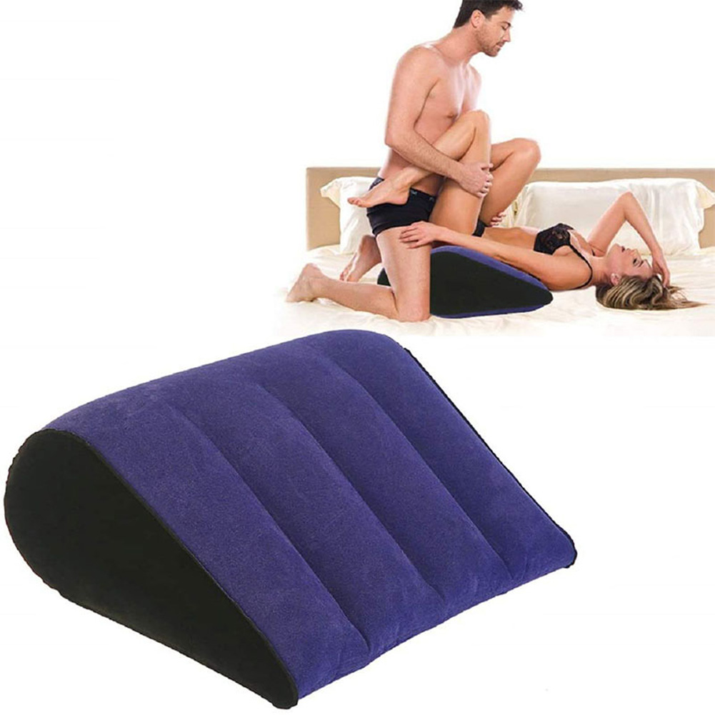 Sex Lumbar Cushion Triangle Pillow Foldable Without Hole Sex Toy for Couples