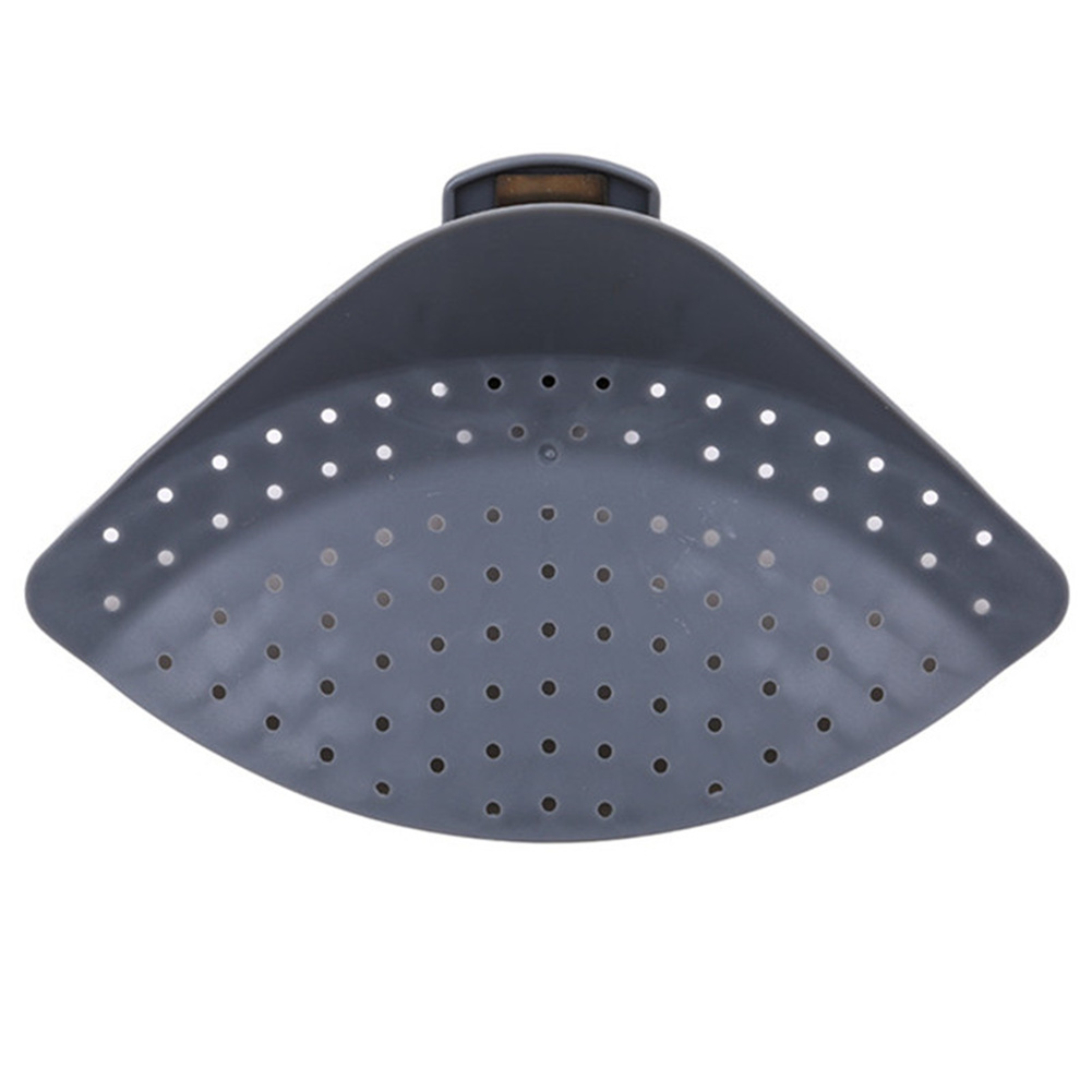 Pot  Strainer Clip Rice Washing Filter Plate Holder Drain Tool Kitchen Accessories Gray
